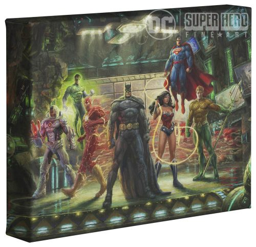 "The Justice League   - 8"" x 10"" Gallery Wrapped Canvas"