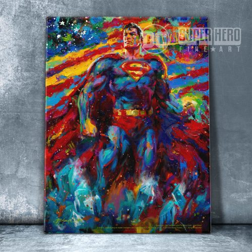 "Superman: Last Son of Krypton - 11"" x 14"" Floating Acrylic Print"
