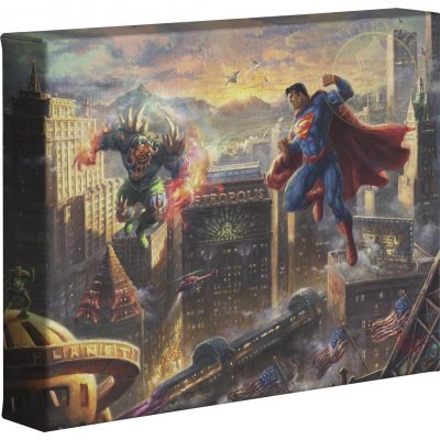 "Superman: Man Of Steel   - 8"" x 10"" Gallery Wrapped Canvas"