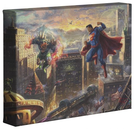 """Superman: Man Of Steel   - 8"""" x 10"""" Gallery Wrapped Canvas"""