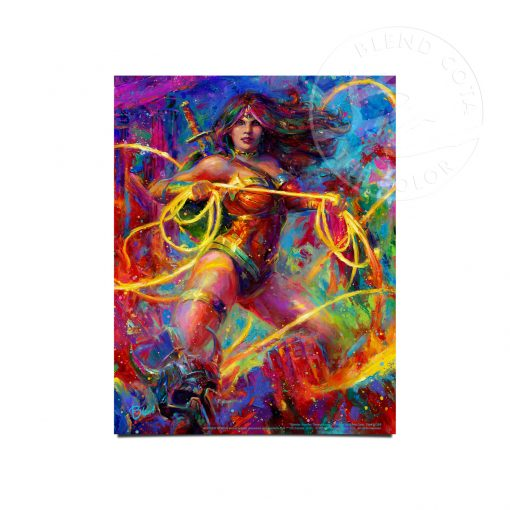 "Wonder Woman - Champion of Themyscira - 11"" x 14"" Art Prints"
