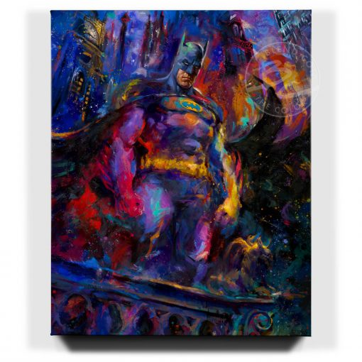 The Dark Knight - Limited Edition Canvas