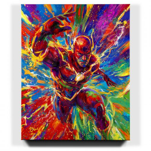 The Flash - Limited Edition Canvas