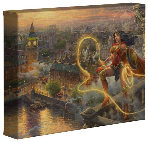 "Wonder Woman - Lasso of Truth - 8"" x 10"" Canvas Gallery Wrap"