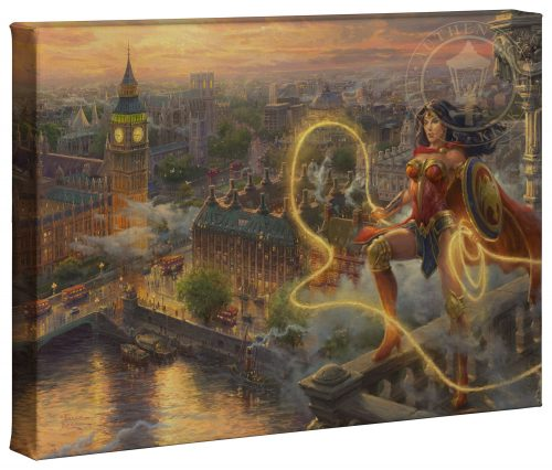 "Wonder Woman - Lasso of Truth - 10"" x 14"" Canvas Gallery Wrap"