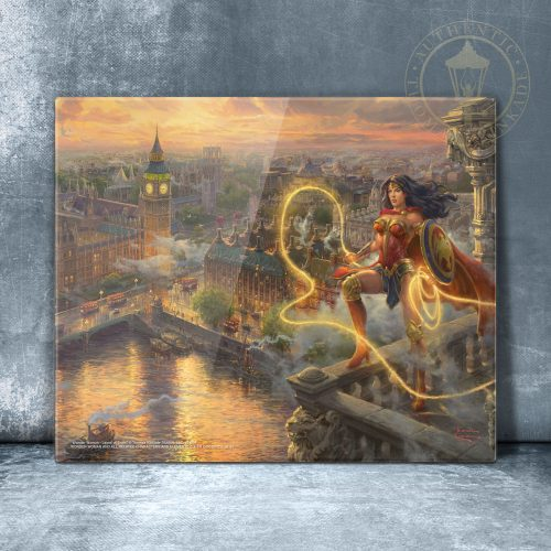 "Wonder Woman - Lasso of Truth - 11"" x 14"" Floating Acrylic Print"