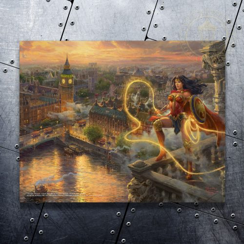 "Wonder Woman - Lasso of Truth - 11"" x 14"" Floating Metal Print"