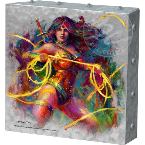 "Wonder Woman - Champion of Themyscira - 10"" x 10"" Metal Box Art"