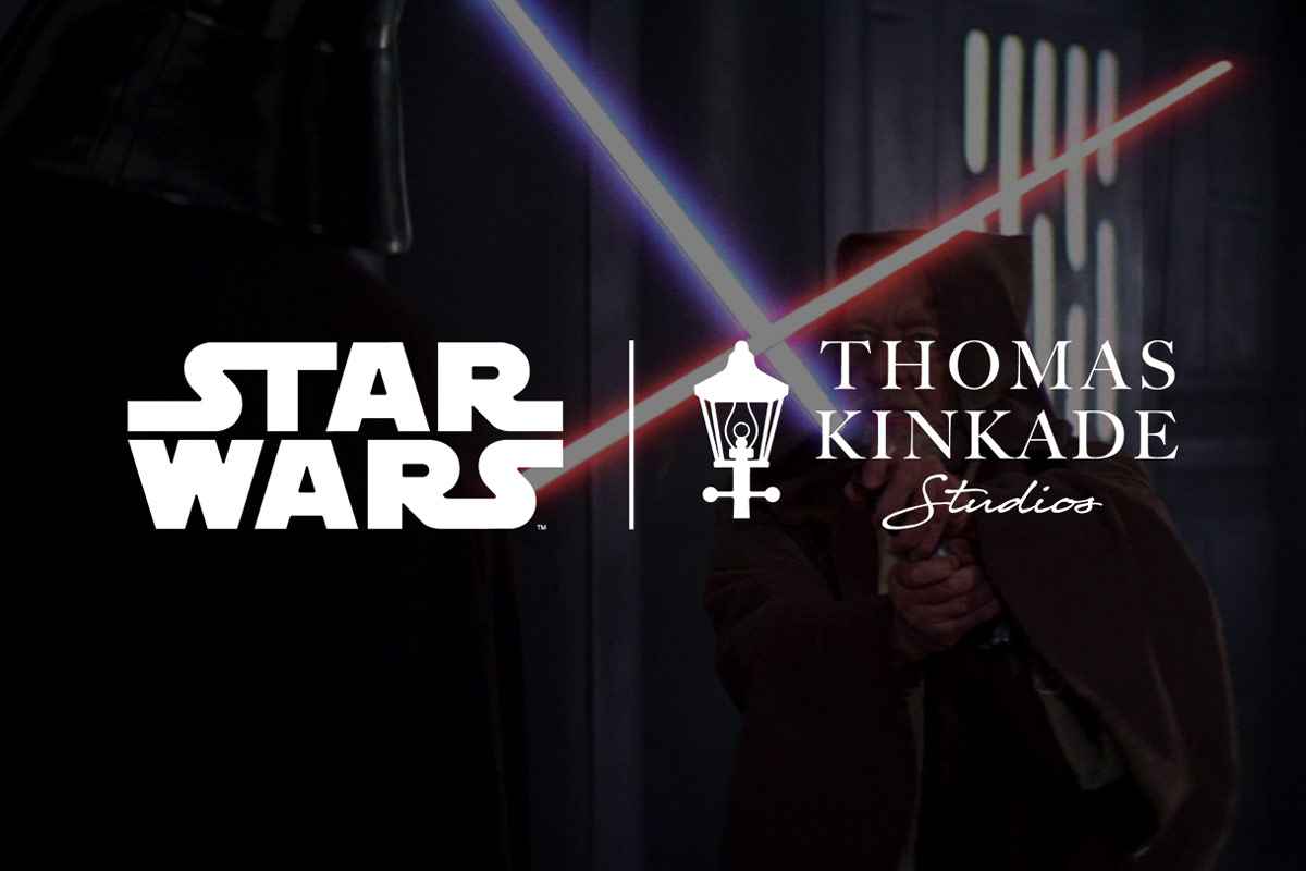 Thomas Kinkade Studios Collab with Star Wars