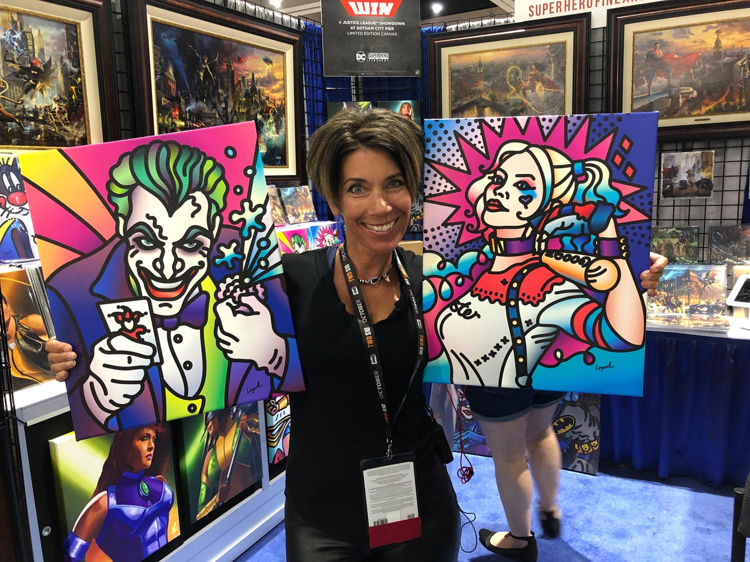 Thank You Sdcc 2019 Attendees And Fans Superherofineart Com
