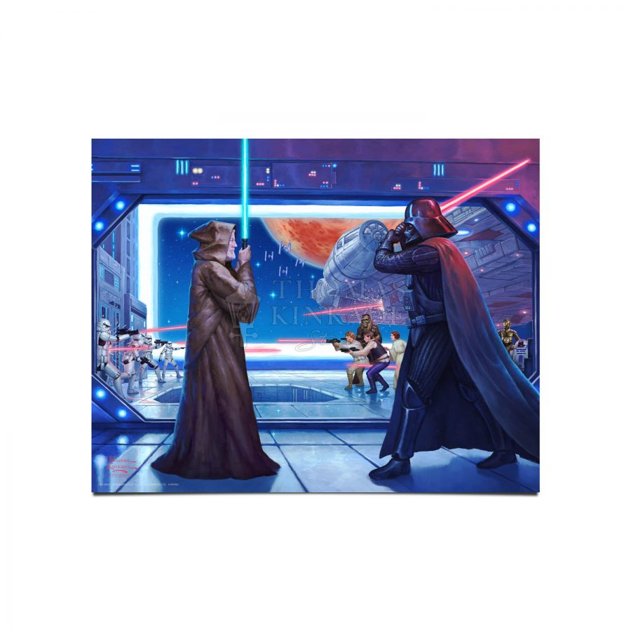 "Obi-Wan's Final Battle - 11"" x 14"" - Art Prints"