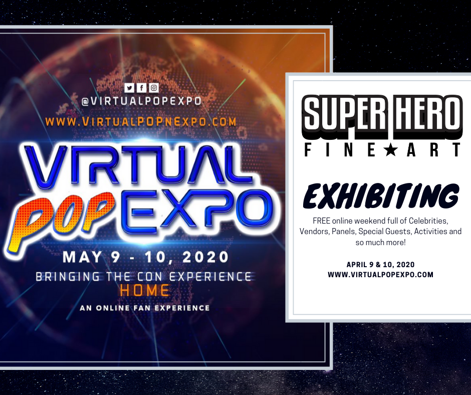 We are Exhibiting at the Virtual Fan Expo
