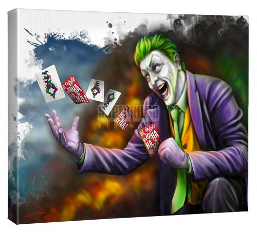 "The Joker - 16"" x 20"" Gallery Wrapped Canvas"