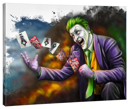 "The Joker - 24"" x 30"" Gallery Wrapped Canvas"