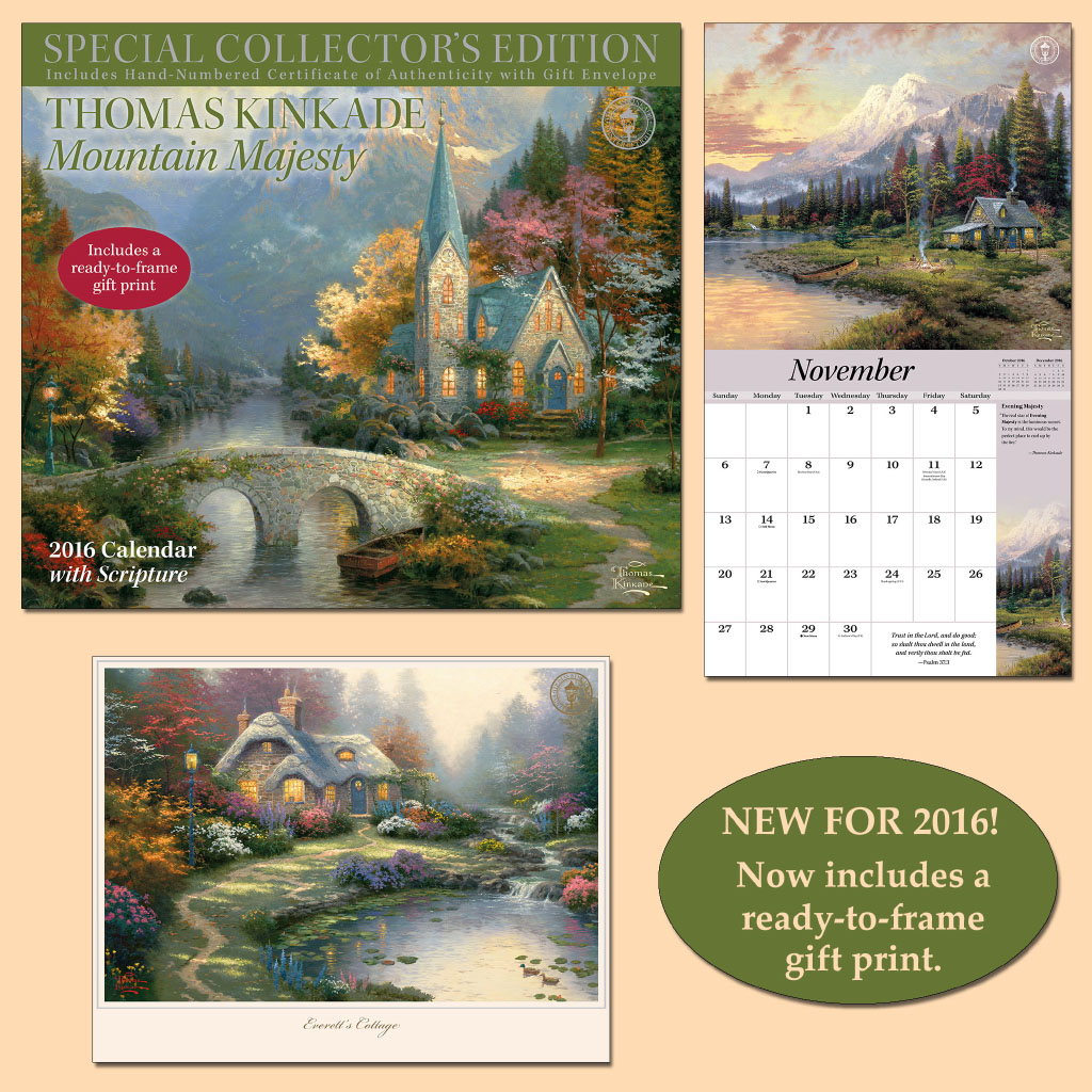 2016 Collector's Calendar Scripture