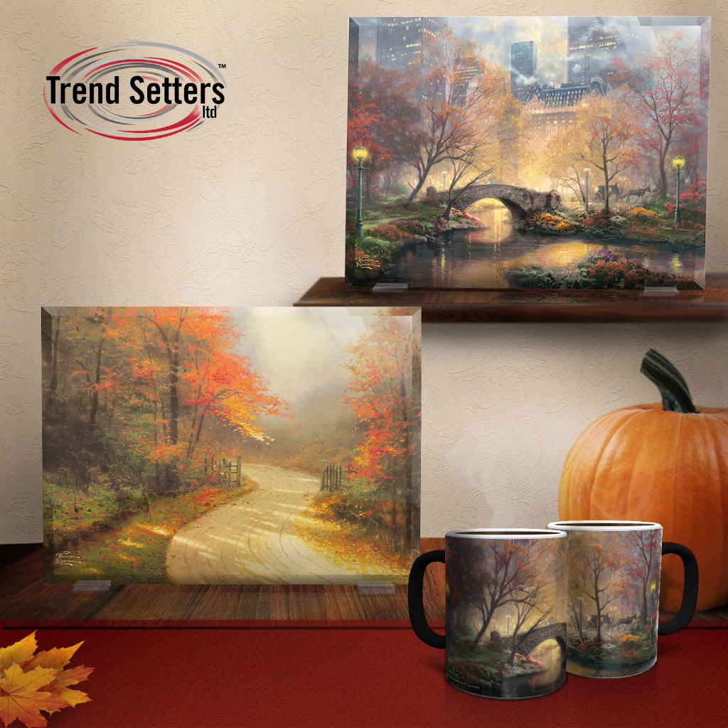 Fall mugs home decor