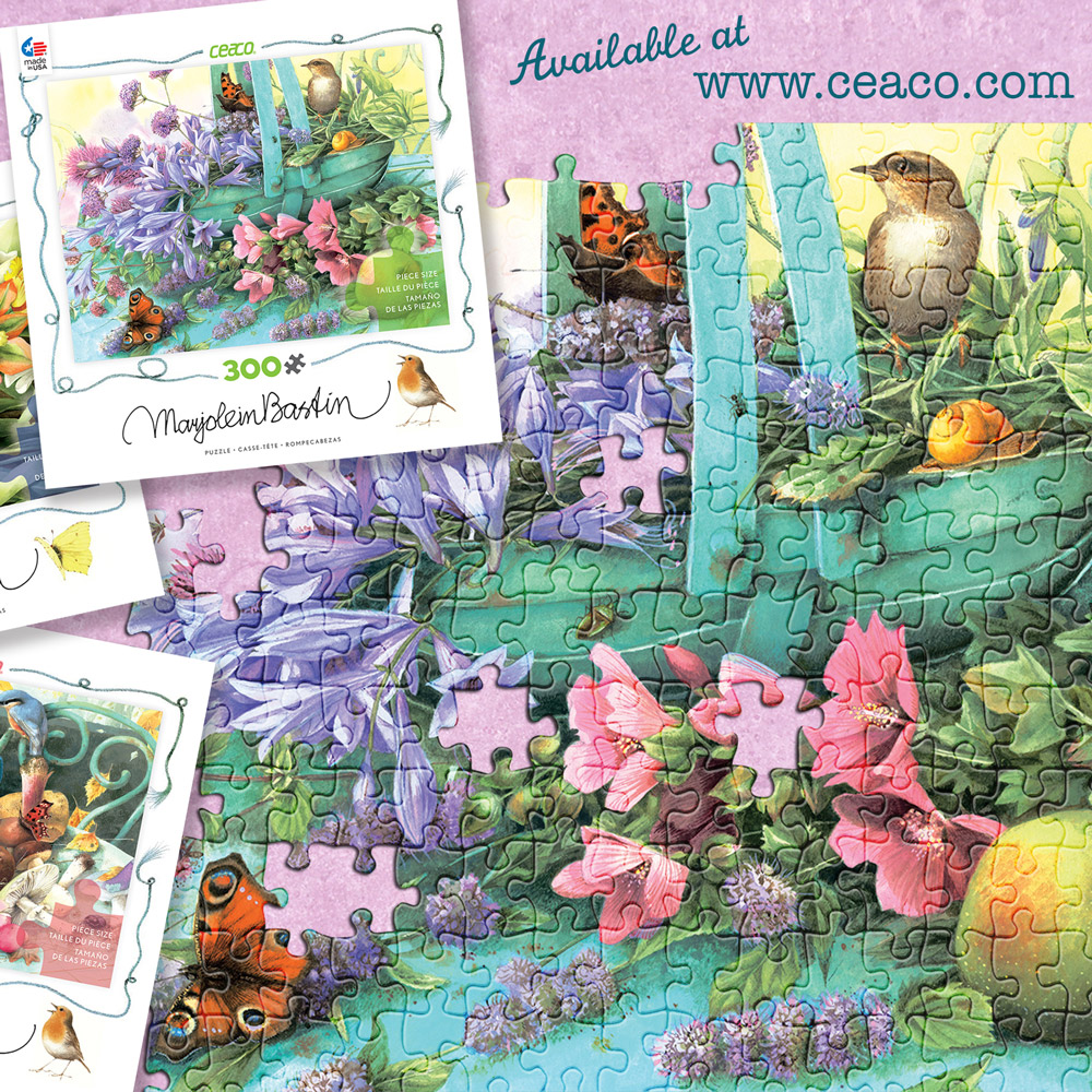 Marjolein Bastin Puzzle Giveaway – Contest Rules