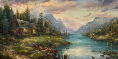 New Release from Thomas Kinkade Studios – A Father's Perfect Day