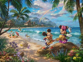 Find yourself in paradise with Mickey and Minnie in Hawaii