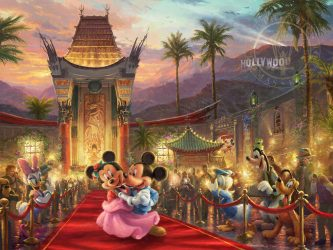 Walk the Red Carpet with Mickey and Minnie in Hollywood