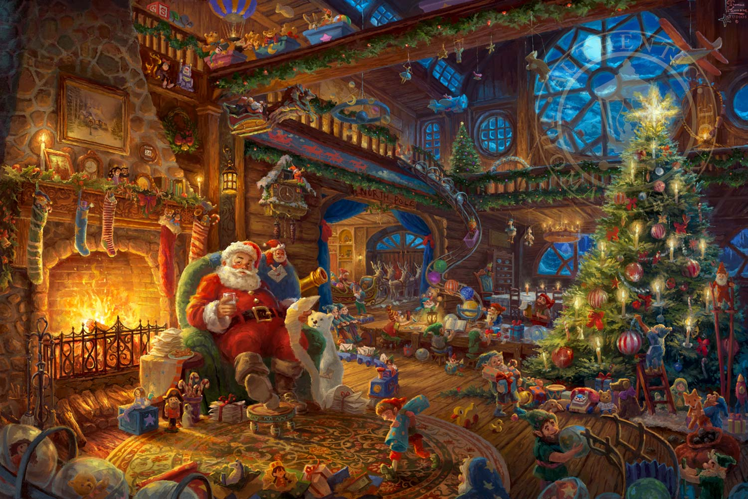 Hidden Images In Thomas Kinkade Paintings