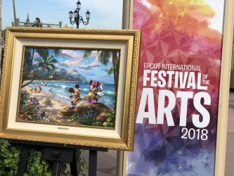Thomas Kinkade Studios At Disney World's Epcot Center Festival of the Arts