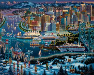 Eric Dowdle's – Vancouver Painting