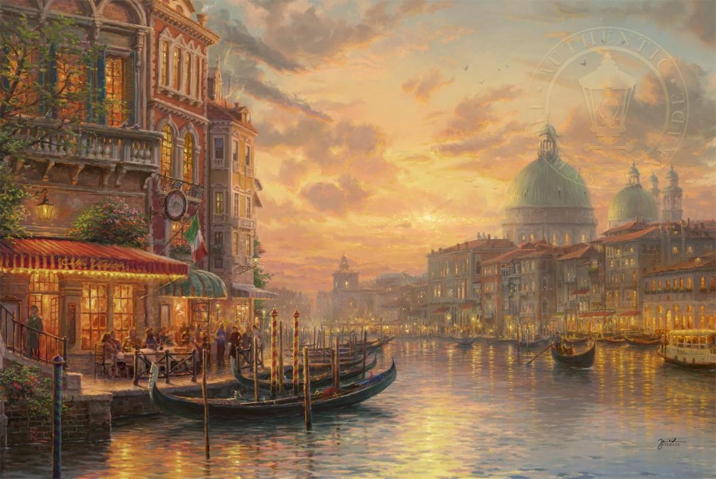 Fall in love with the sparkling waters of Venetian Café