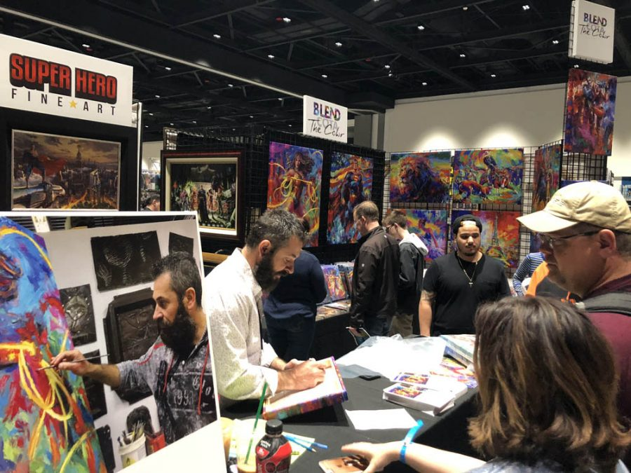 Artists, Creators, and Fans at Silicon Valley Comic Con 2018