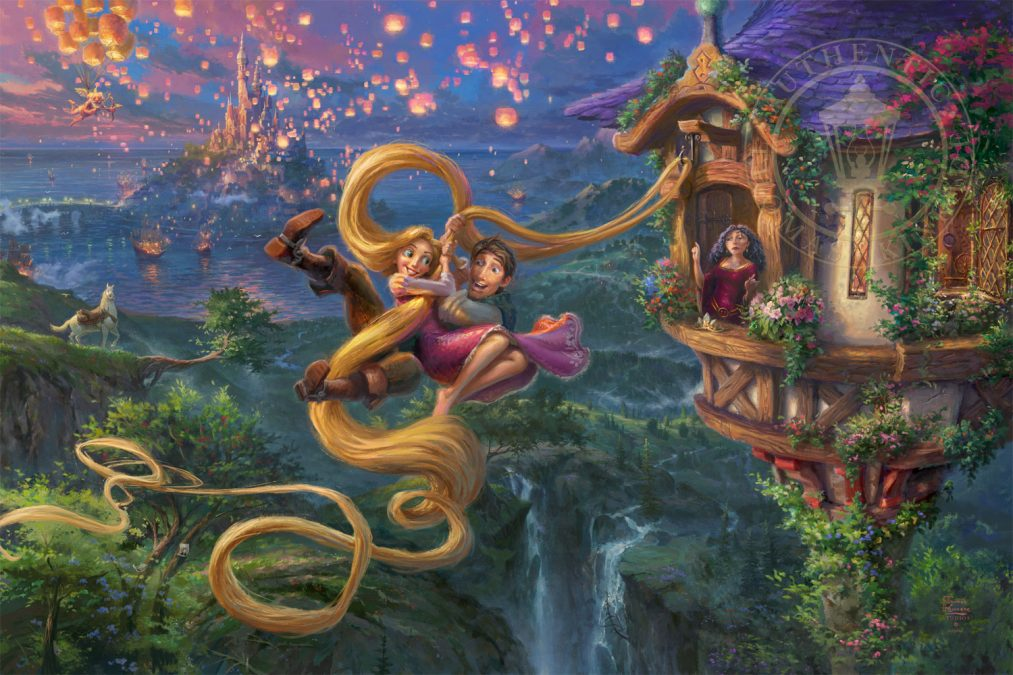Tangled Up In Love the Latest Thomas Kinkade Studios release