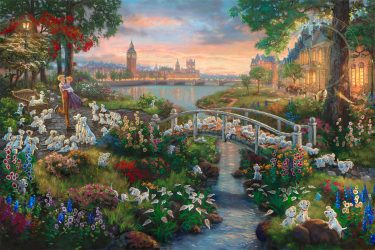 A Very Furry New Release from Thomas Kinkade Studios