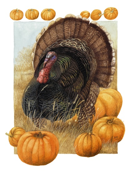 Thanksgiving Art from Marjolein Bastin