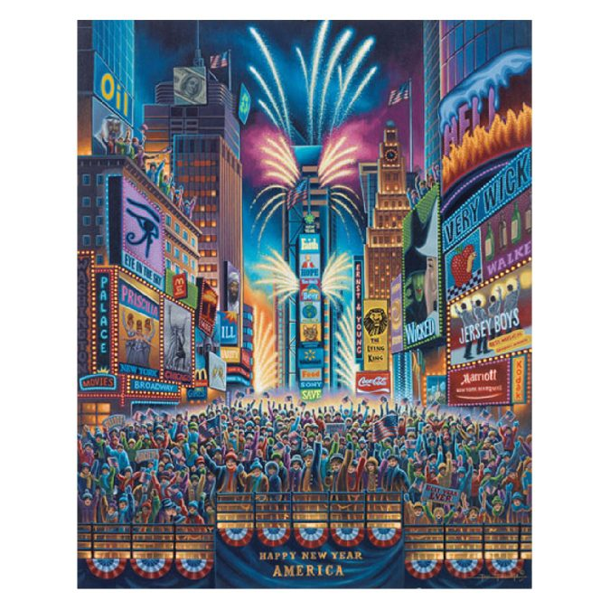 New Year's Eve Art