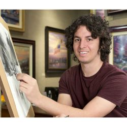 Art Brand Studios Announces New Artist, Zachary Thomas Kinkade