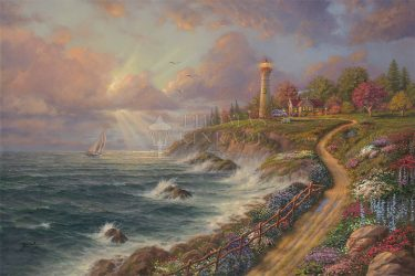 Thomas Kinkade Studios New Limited Edition Release – Returning Home